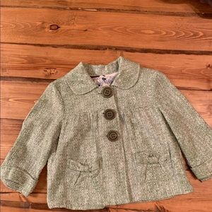 Jackets & Blazers - Vintage tweed cropped jacket with buttons